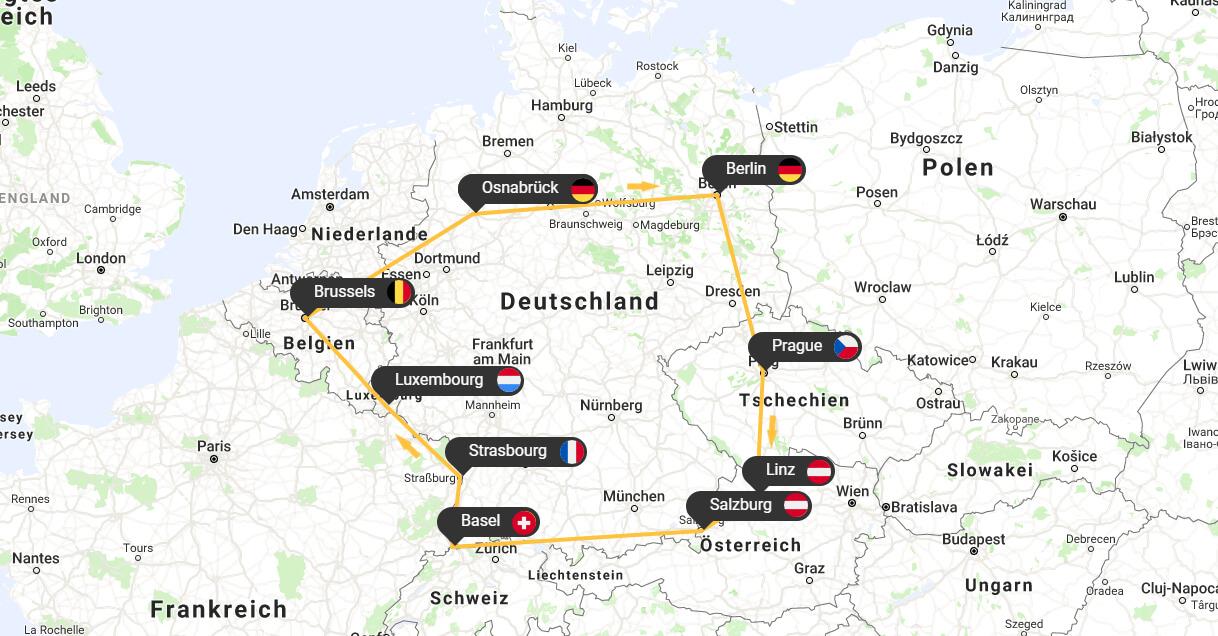 #DiscoverEU – Die Planung meiner Interrail-Reise